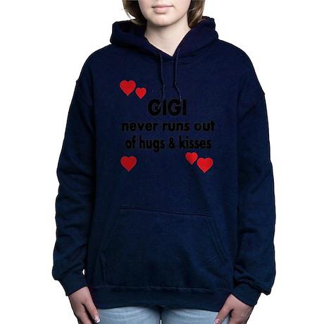 GIGI NEVER RUNS OUT OF HUGS K Hooded Sweatshirt