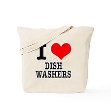 I Heart (Love) Dish Washers Tote Bag