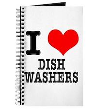 I Heart (Love) Dish Washers Journal