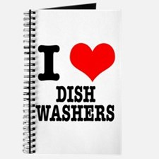 I Heart (Love) Dish Washers Journal