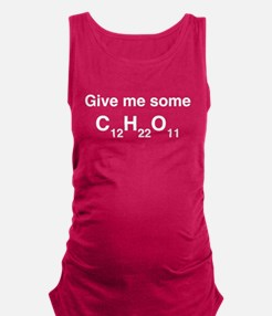 Chemistry Give Me Sugar Maternity Tank Top