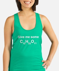 Chemistry Give Me Sugar Racerback Tank Top