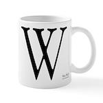 The W mug