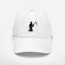 Grim Reaper Baseball Baseball Cap