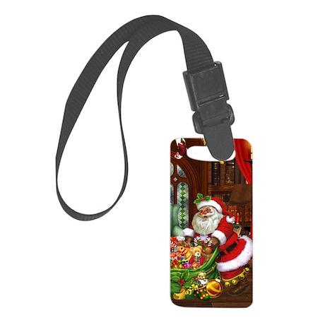 Santa Claus! Small Luggage Tag