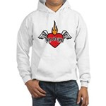 Mother's Day : Mom heart Hooded Sweatshirt