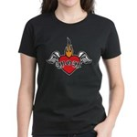 Mother's Day : Mom heart Women's Dark T-Shirt