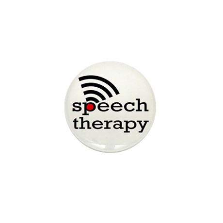 Speech Therapy Mini Button (10 pack)