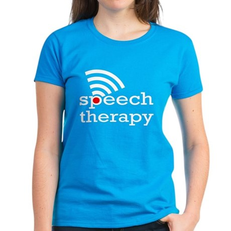 Speech Therapy Women's Dark T-Shirt