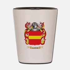 Lance Coat of Arms - Family Crest Shot Glass