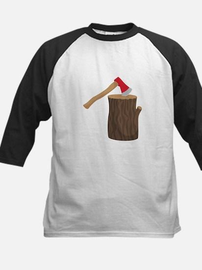 Axe With Log Baseball Jersey