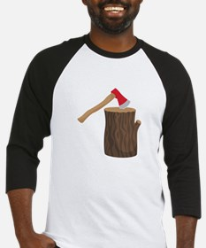 Axe With Log Baseball Jersey