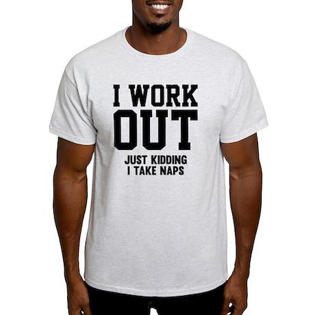 WorkOutKidding1A Light T-Shirt
