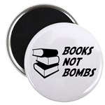 Books Not Bombs Magnet