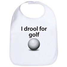 I Drool For Golf Bib