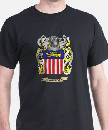 Lankford Coat of Arms - Family Crest T-Shirt