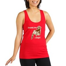 Loves a Cowgirl Racerback Tank Top