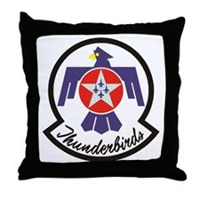Thunderbirds Military Throw Pillow