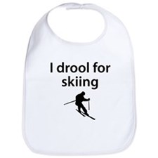 I Drool For Skiing Bib