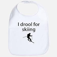 I Drool For Skiing Bib