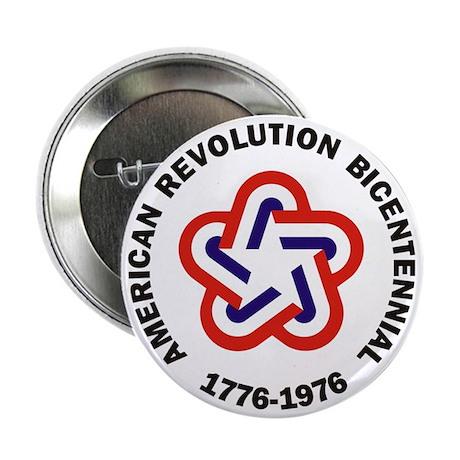 "American Revolution Bicentennial Mili 2.25"" Button"