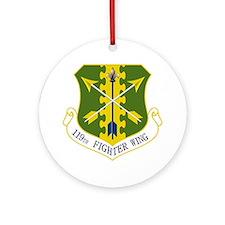119th FW Round Ornament