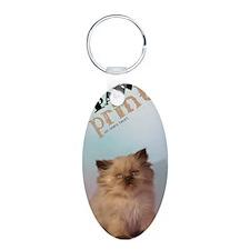 Brown Persian Kitten Keychains