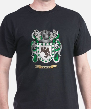 Lavery Coat of Arms - Family Crest T-Shirt