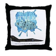 FB-111A 68-0249 Little Joe Throw Pillow