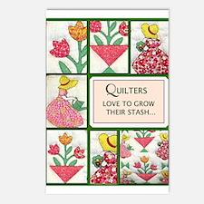 Garden Quilt Postcards (Package of 8)