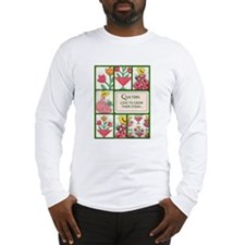 Garden Quilt Long Sleeve T-Shirt