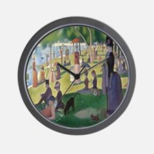 Island of La Grande Jatte Wall Clock