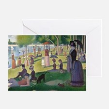 Island of La Grande Jatte Greeting Card