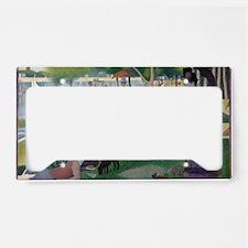 Island of La Grande Jatte License Plate Holder