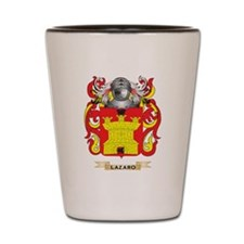 Lazaro Coat of Arms - Family Crest Shot Glass