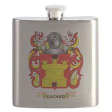 Lazaro Coat of Arms - Family Crest Flask