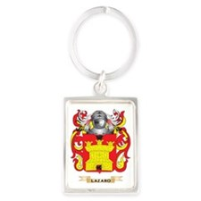 Lazaro Coat of Arms - Family Cre Portrait Keychain