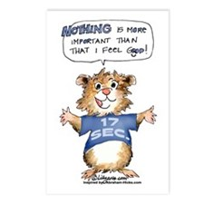 Cartoon Abrahamster Postcards (Package of 8)