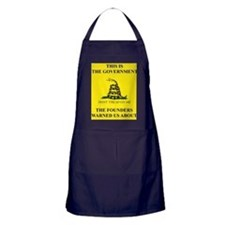 THIS IS THE GOVERNMENT THE FOUNDERS W Apron (dark)