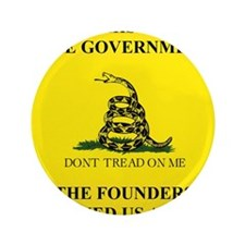 "THIS IS THE GOVERNMENT THE FOUNDERS WA 3.5"" Button"