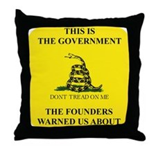 THIS IS THE GOVERNMENT THE FOUNDERS W Throw Pillow