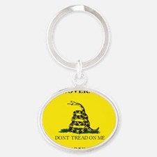 THIS IS THE GOVERNMENT THE FOUNDERS  Oval Keychain