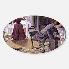 Dimanche (Sunday) Sticker (Oval)