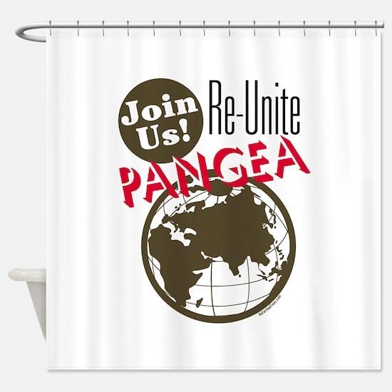 Re-Unite Pangea Shower Curtain