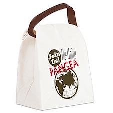 Re-Unite Pangea Canvas Lunch Bag