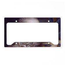 Marie Antoinette License Plate Holder