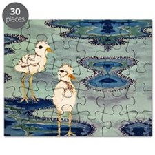 Love Snowy Plovers Love Shore Birds Puzzle