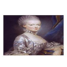 Marie Antoinette Postcards (Package of 8)