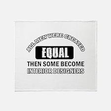 Interior Designers Throw Blanket