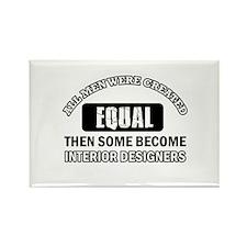 Interior Designers Rectangle Magnet (100 pack)